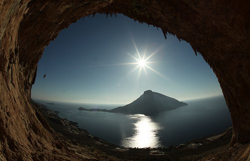 Sun and Cave